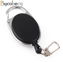 Bycobecy Smart Alloy Key Holder EDC Fashion Key Wallets Solid Keychain Clip Folder for Men Women Car Key Organizer Housekeeper useful aluminum casual alloy etc organizer home 6 key accessories keys folder holder outdoor key keychain clip