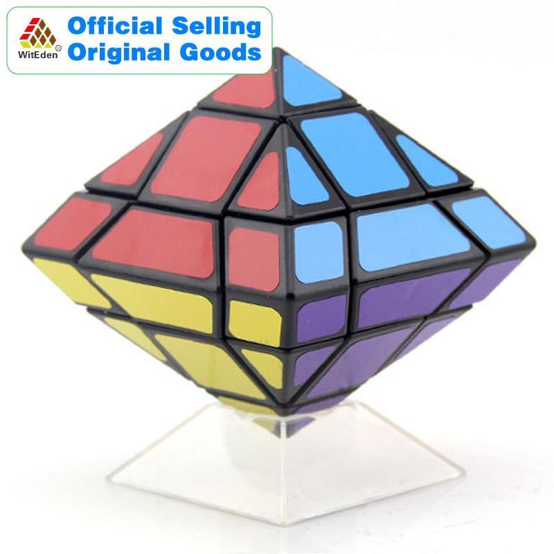 WitEden octaèdre mélange Cube magique v4 Pyraminxeds Cubo Magico professionnel néo vitesse Cube Puzzle Antistress Fidget jouets pour enfant