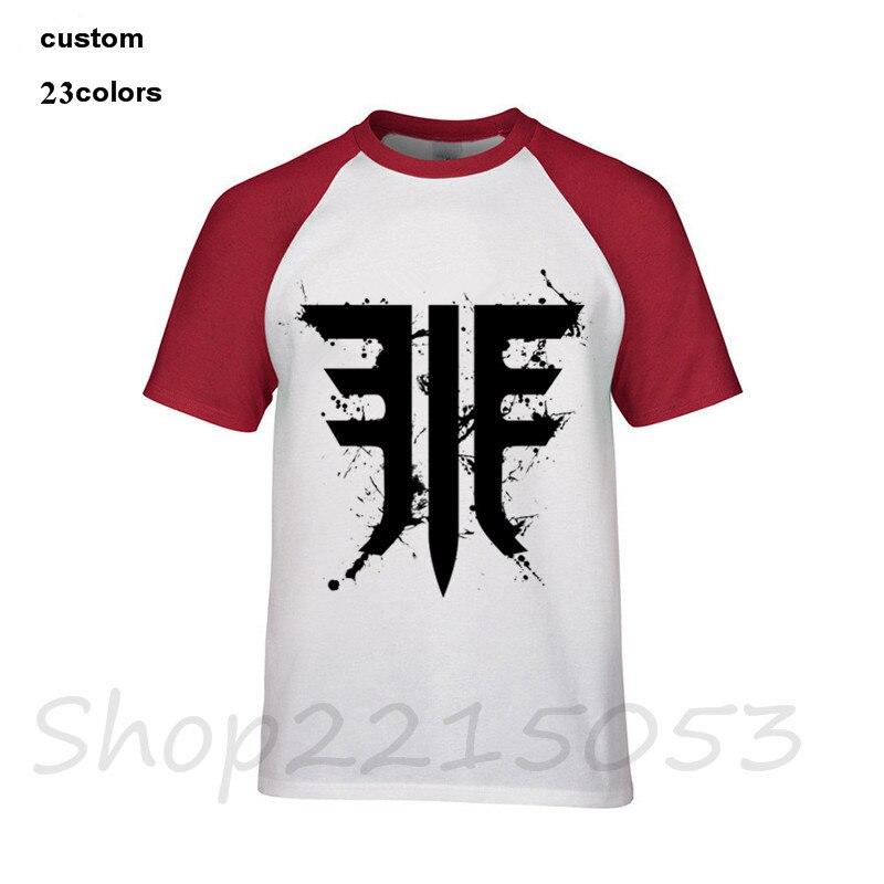 3e6d3078e9e Aliexpress.com   Buy 2018 fashion Destiny 2 Forsaken Emblem Black Splats  Men game T Shirt hot geek white black cotton camisetas male t shirts tshirts  from ...