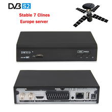 Satellite TV Receiver V9S PRO DVB-S2 Full HD 1080P MPEG-5 v9s+ Decoder 1 year free Europe clines Spain Italy Germany Channels