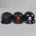 One Piece anime skull Europe 2016 Summer men's outdoor sports adjustable hiphop hats snapback baseball cap black hat