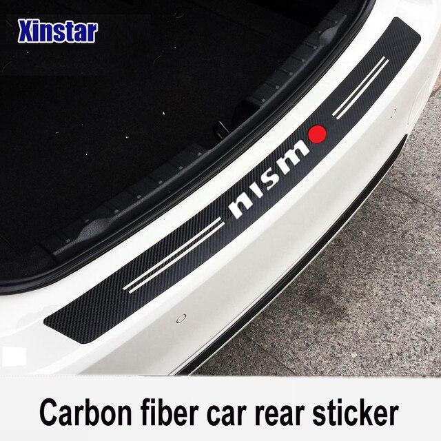 Carbon Fibercar 3d 5d Material Nismo Car Bumper Sticker For Nissan