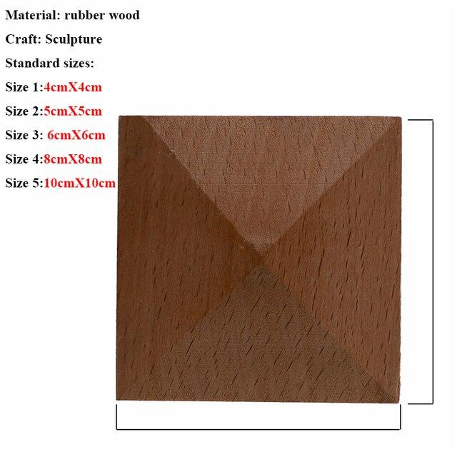 VZLX Square Wood Applique Carved Decal Corner Onlay Unpainted Furniture For Vintage Home Decor Door Cabinet Decoration Maison 5