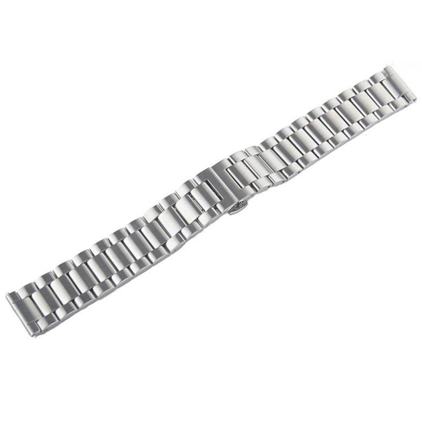 HL Stainless Steel Watch Band Strap Metal Clasp For
