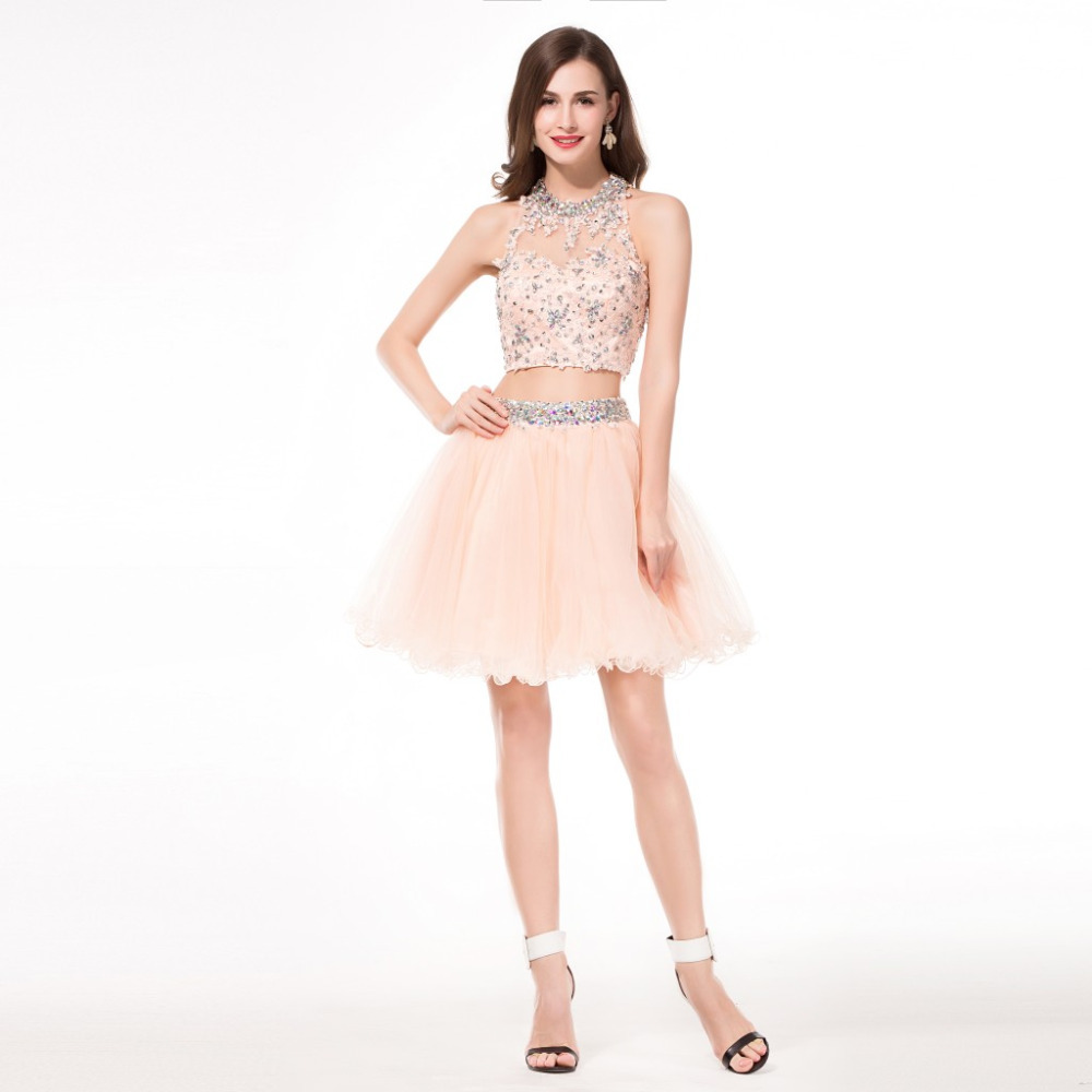 Popular 2 Piece Short Sweet 16 Dresses-Buy Cheap 2 Piece Short ...