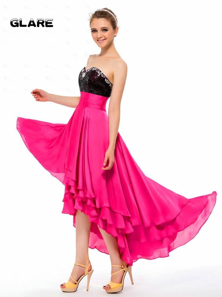 Short prom bridesmaid dresses 2018 new models purely formal design ...
