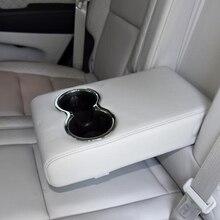 Для Jeep Grand Cherokee ABS хромированное заднее сиденье держатель стакана воды панель Крышка отделка автомобильные аксессуары 1 шт
