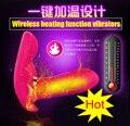 Горячая Беспроводной отопление расстояние дистанционного управления 20 м бабочка вибратор, USB заряд безопасности Вибрационный Трусики Клитор Секс-Игрушки