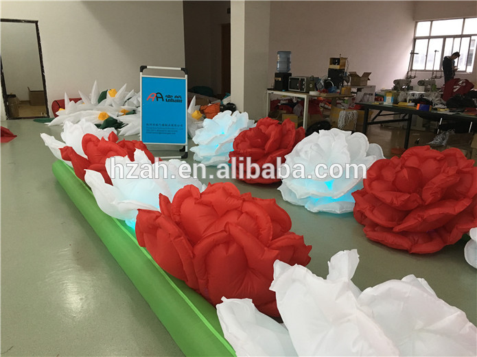 Wedding Decoration Inflatable Rose Flower Chain with - Furniture - Photo 3