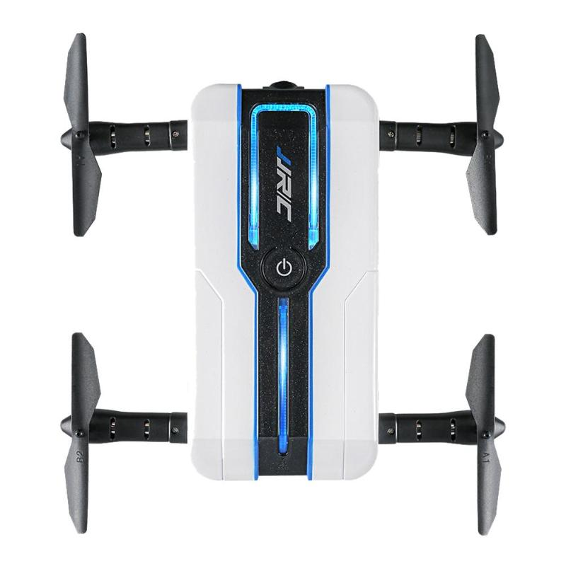 H61 WiFi FPV Quadcopter Mini Foldable APP Selfie Drone RC Drone with 720P HD Camera FPV Professional RC Helicopter genuine original xiaomi mi drone 4k version hd camera app rc fpv quadcopter camera drone spare parts main body accessories accs