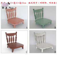 Newborn Baby Photography Iron Chair Bed Props Detachable Baby Boy Girl Photo Shoot Studio Posing Basket Infant bebe fotografia