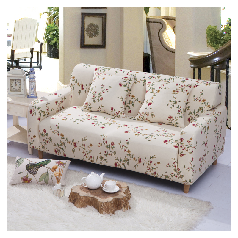 Us 17 54 30 Off Homing Printed Couch Cover Protector Sofa Wrap Elastic Spandex Stretch Slipcovers All Inclusive 1 2 3 4 Seater In