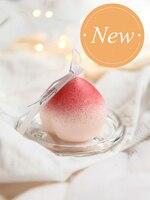 1PCS Peach Aromatherapy Candle romantic candlelight dinner decoration birthday wedding smokeless candles