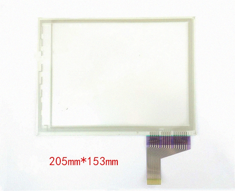 купить 8.8-inch, 9-inch, 17-wire resistive touch screen industrial screen 205*153, free delivery.