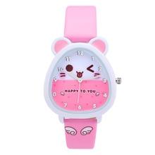 Free shipping Kezzi kids Boy Girl Watch K734 Quartz Analog Leather Wristwatches Gifts Cartoon Casual Waterproof relogio