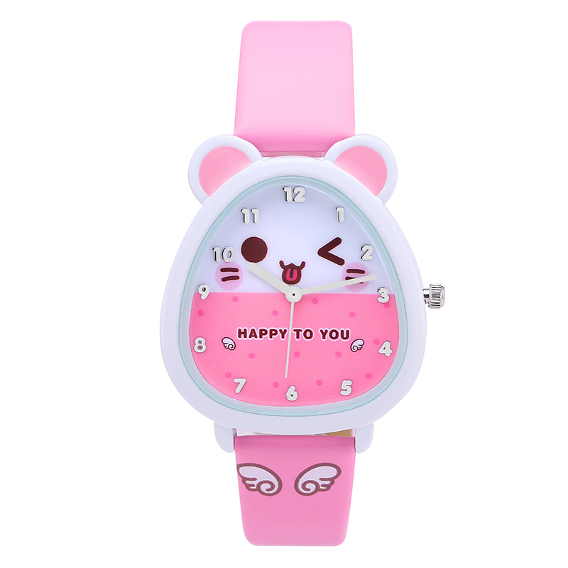Free shipping Kezzi kids Boy Girl Watch K734 Quartz Analog Leather Wristwatches Gifts Cartoon Casual Waterproof relogio