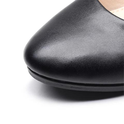 Women Ballet Flats Shoes Black Women Casual PU Leather Shoes For Office Work Boat Shoes Cloth Sweet Loafers Womens Classics Shoe Islamabad