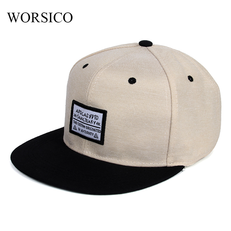 [WORSICO] Summer Baseball Cap Men Snapback Hat Bone Hip Hop Cap Women Casual Autumn Adjustable dad hats gorras Beige Gray купить