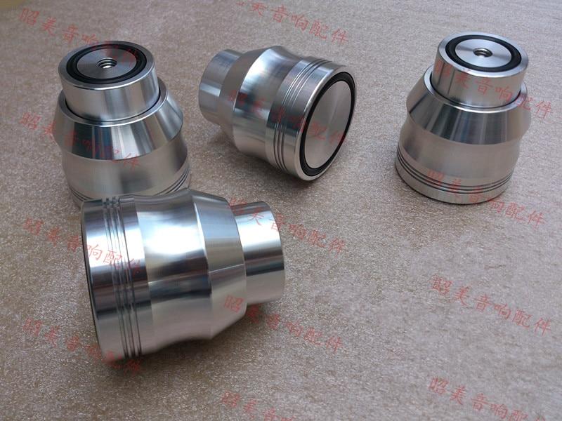 4pcs Maglev Amplifier feet Shock Spikes Damping mats Diameter: 53mm height: 53mm