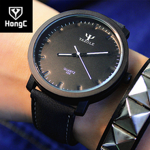 HongC Quartz Watch Men 2017 Wristwatch Male Clock for Wrist Watch Mens Top Brand Luxury Famous