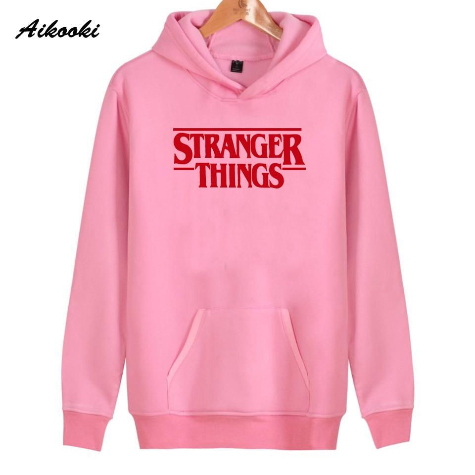 Hoodie Stranger Things Hoodies Sweatshirt women/men Casual Stranger Things Sweatshirts Women Hoodie Men's 28