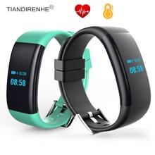 Smart пульсометр DF30 крови Давление кислорода сна спортивный браслет часы Носимых устройств для iPhone IOS Android