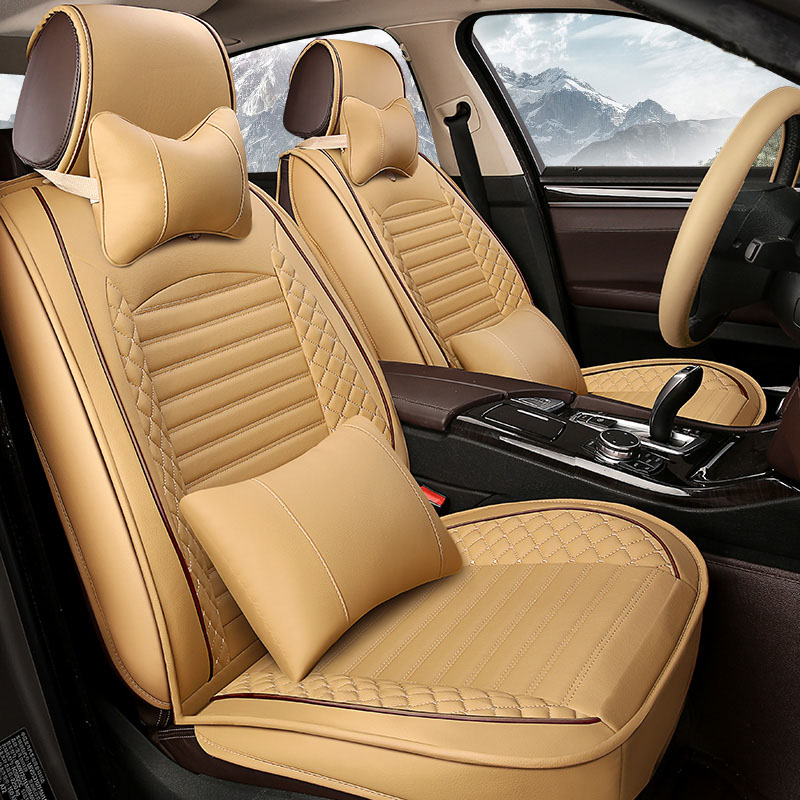 Hot Sale Front Rear Leather Car Seat Covers For Subaru Impreza