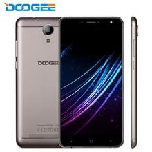 Original doogee x7 teléfono celular ram 1 gb rom 16 gb mtk6580 quad Core 6.0 pulgadas 1280×720 HD Android 6.0 Cámara de 8MP 3700 mAh Teléfono Inteligente