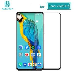 Image 1 - Temperli cam için Huawei Honor 20 30 Pro 20S 30S Nova 5T Nillkin CP + Pro tam tutkal ekran koruyucu Huawei Honor 20 cam