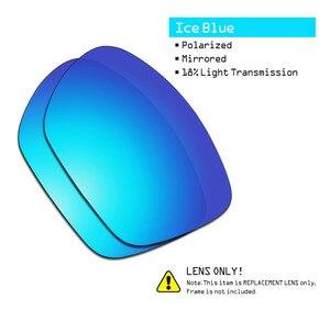 Image 4 - SmartVLT 3 זוגות מקוטב משקפי שמש החלפת עדשות עבור אוקלי Twoface XL התגנבות שחור וכסף טיטניום וקרח כחול