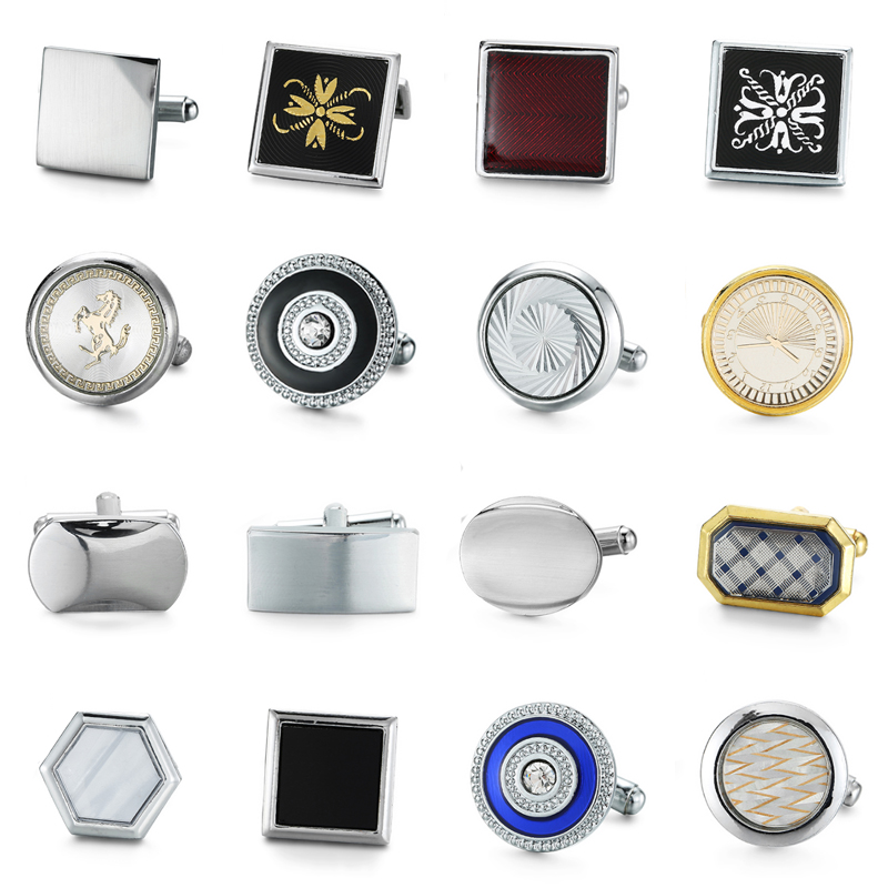 Men Cuff Links Luxury Brand Cufflinks High Quality Wedding Cufflinks For Mens French Cuf ...