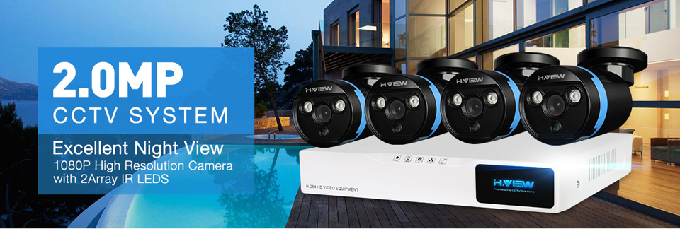 CCTV Security Camera System 4420Q3AM (1)