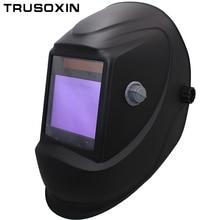 цена на Solar Auto darkening filter welding helmet/face mask/Electric welder mask/caps for TIG MIG MMA welding machine
