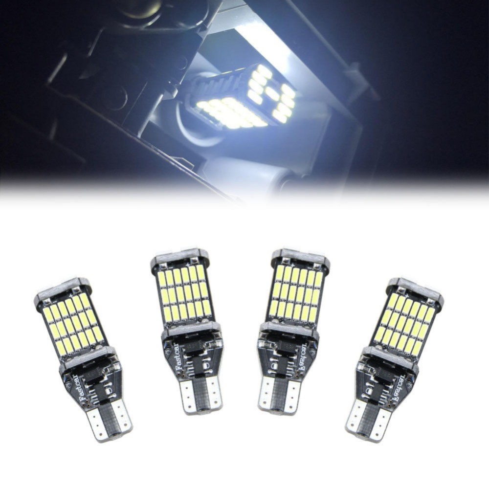 T10//192 SMD LED 60W High Power 3535 Chip Amber//Yellow Interior Light Bulbs
