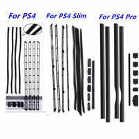 DIY Staub-Proof Kit Verhindern Abdeckung Fall Mesh Jack Stopper Pack Staubdicht Für SONY PlayStation 4 Pro PS4 Pro PS4 Dünne PS4 Konsole