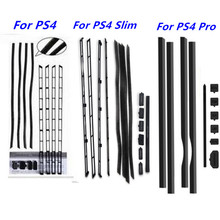 Zestaw odporny na kurz z siatki przeciwpyłowej zapobiegający pokryciu siatki Jack korek pyłoszczelny do konsoli SONY PlayStation 4 Pro PS4 Pro PS4 Slim PS4