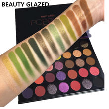 BEAUTY GLAZED Makeup Palette Beauty Glazed POPPING Palette Eyeshadow 35colors Eye shadow Top Quality(China)