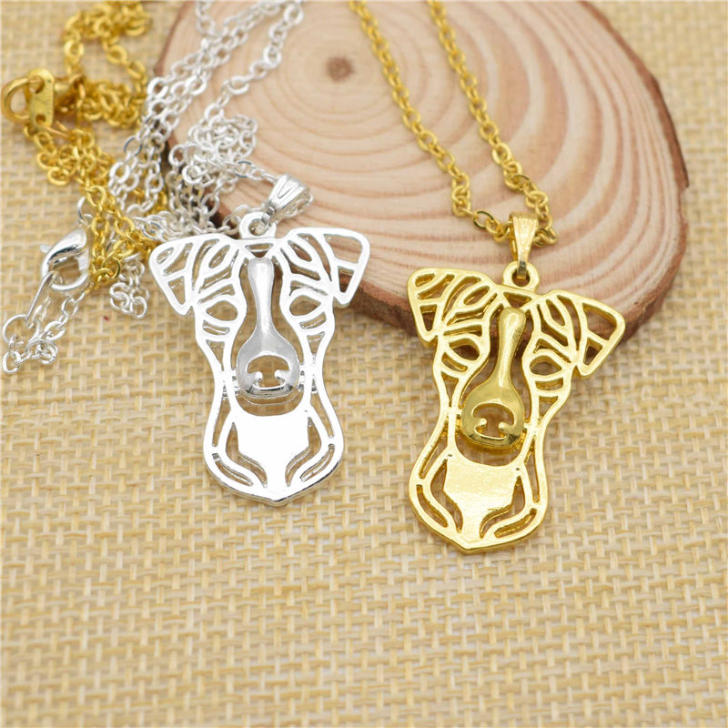 LPHZQH fashion accessory Boho Chi cute necklace Jack Russell Terrier choker pendant Women necklace Collares Jewelry gift punk
