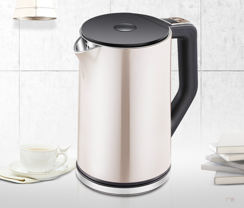 electric kettle used boil water 304 stainless steel Safety Auto-Off Function все цены