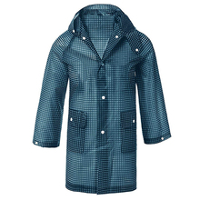 Yuding Waterproof Hooded Rain Poncho Jacket Coat for Kids\boys\girls\toddlers Plastic Geometric CHILDREN Raincoat with Pockets