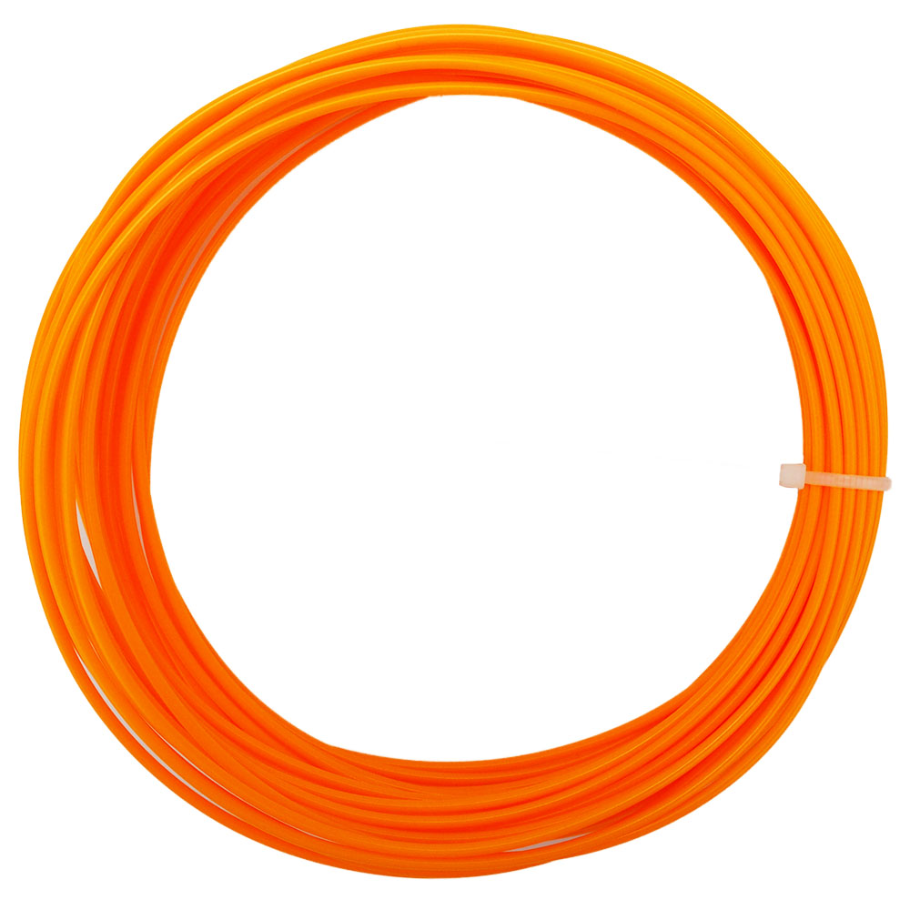 10M-40G Quality PLA 1.75mm 3D Printer Filament 3D Printing Pen Materials with Orange Color