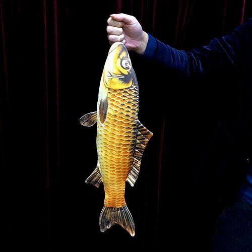 2019 FISM nouveau poisson apparaissant (54 cm) tours de magie poissons apparaissant de la carte étui Magia magicien scène Illusions Gimmick accessoires amusant