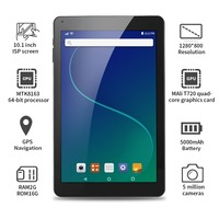 Aoson R102 tablet 10.1 inch 2GB+32GB Quad Core Tablets Android 6.0 Quad Core MTK Tablet PC Dual Cameras WIFI Bluetooth GPS