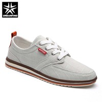 Breathable Casual Men Canvas Flat Shoes Plus Size 38 48 Popular Style Boys Fashion Lace Up