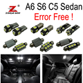 24pc X 100% canbus Error Free for Audi A6 S6 C5 Sedan LED Interior Map Dome Light Kit Package (1998-2004)