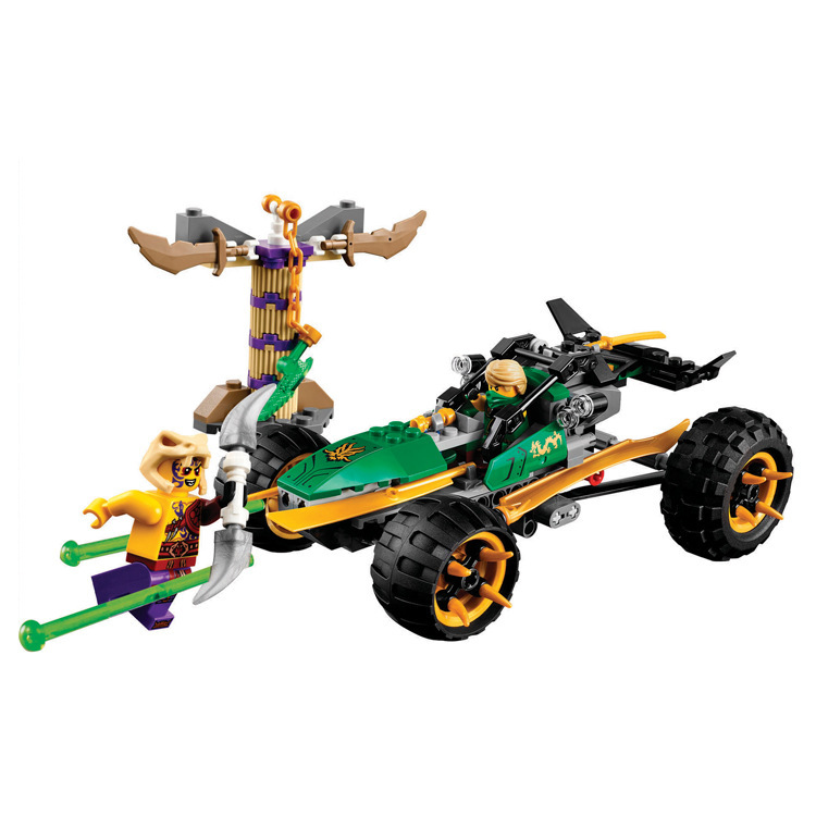 Toys for children CHINA BRAND 10320 self-locking bricks Compatible with Lego Ninja Go Jungle Racer 70755 no original box educational diy toys for children baby toy building school and school bus self locking bricks compatible with lego