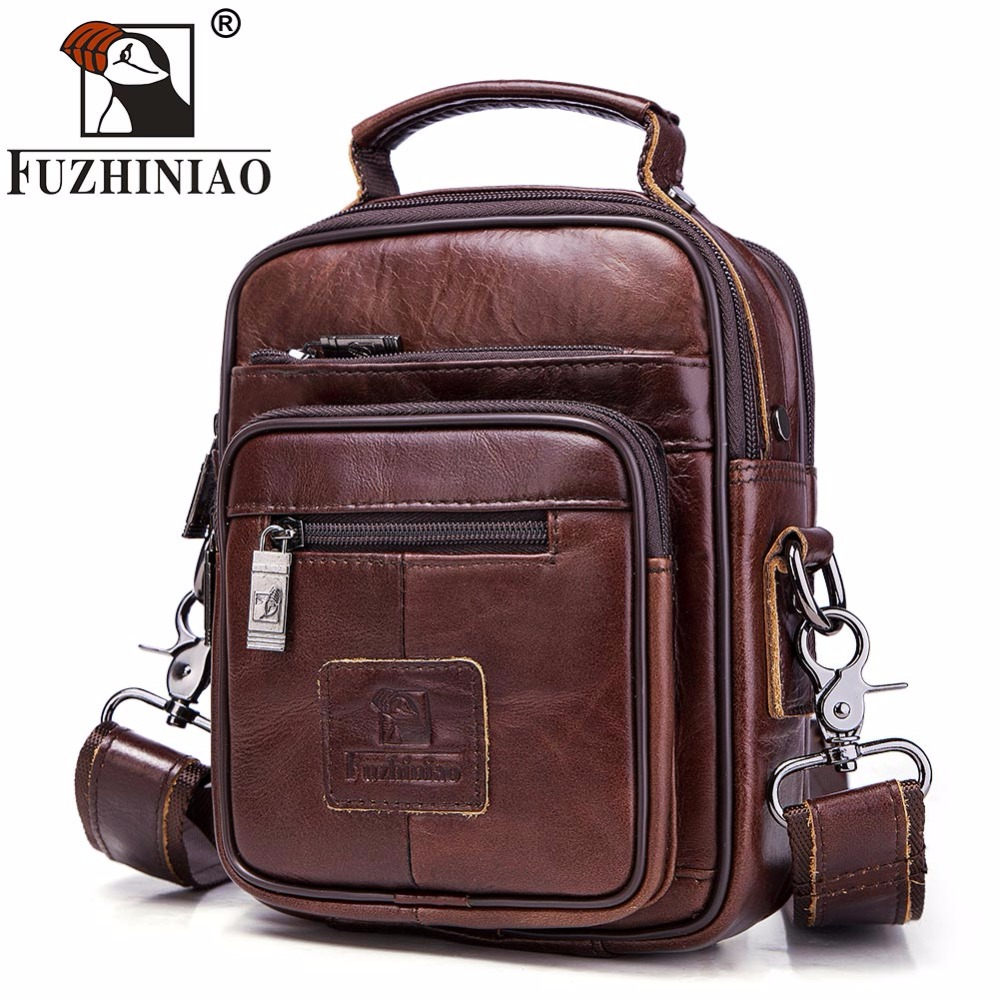 FUZHINIAO Large Capacity Mans Shoulder Bags Brand Genuine Leather Crossbody Messenger Bag High Quality Business Tote For iPadFUZHINIAO Large Capacity Mans Shoulder Bags Brand Genuine Leather Crossbody Messenger Bag High Quality Business Tote For iPad
