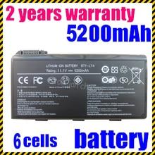 JIGU bty l74 4400 мАч Аккумулятор Для MSI BTY-L74 CX600 Все Серии CX600-064UK CX700 Все Серии CR610-033 CR700-085FR MSI CX620