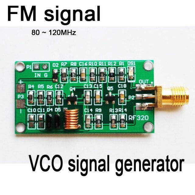 80 ~ 120 МГц ГУН РФ Источник Сигнала Генератор, Управляемый Напряжением Генератор Сигналов