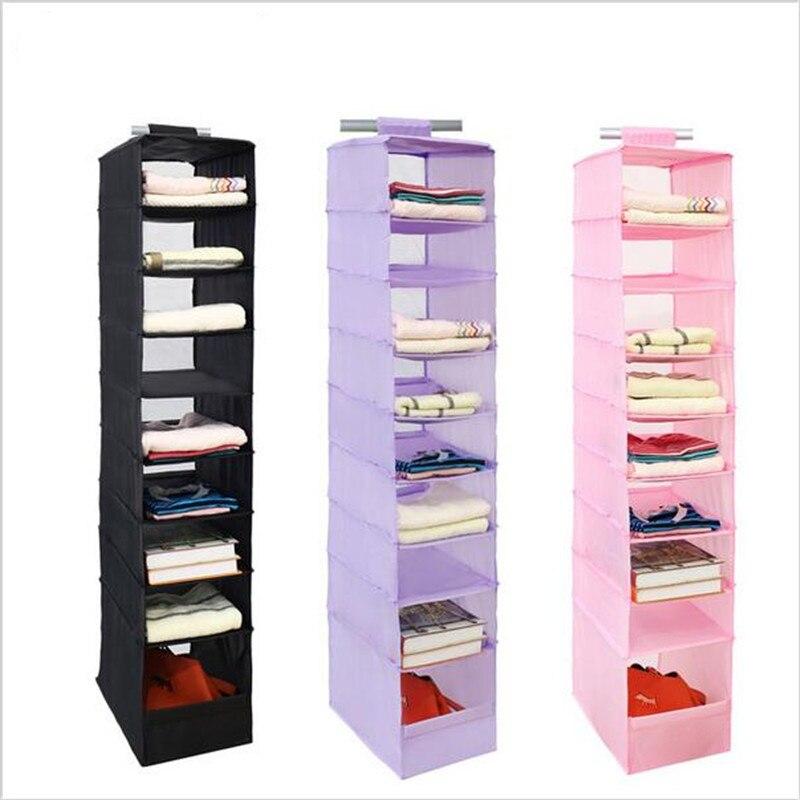 Hanging Box Organizer Underwear Sorting Clothing Shoe Storage Box Door Wall Closet Organizador Colgante Closet